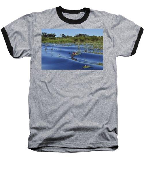 Solitude In The Okavango Baseball T-Shirt