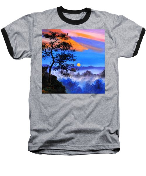 Baseball T-Shirt featuring the painting Solitude by Karen Showell