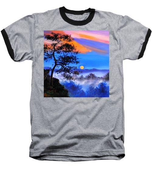 Solitude Baseball T-Shirt by Karen Showell