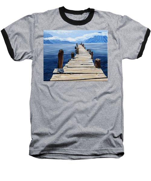 Crooked Dock  Baseball T-Shirt