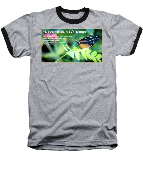 Baseball T-Shirt featuring the photograph Solitude Moments by Deborah Klubertanz