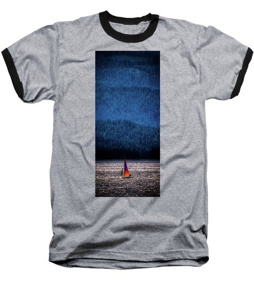 Baseball T-Shirt featuring the photograph Solitude On Priest Lake by David Patterson