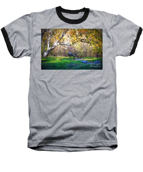 Solitude Under The Sycamore Baseball T-Shirt