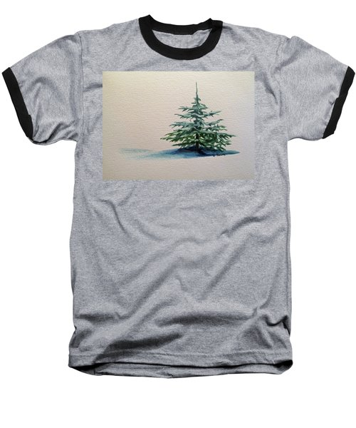 Baseball T-Shirt featuring the painting Solitude by Wendy Shoults
