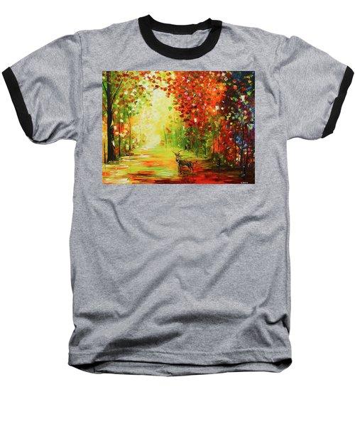 Solo Deer Baseball T-Shirt