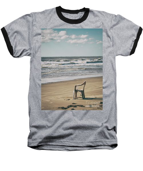 Solo On The Beach Baseball T-Shirt