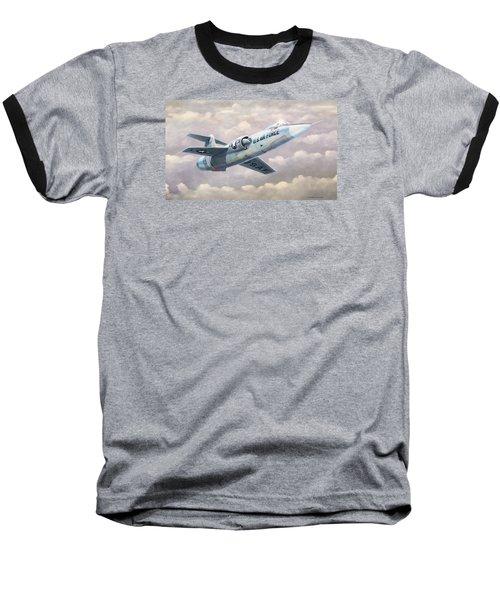 Solo Starfighter Baseball T-Shirt by Douglas Castleman