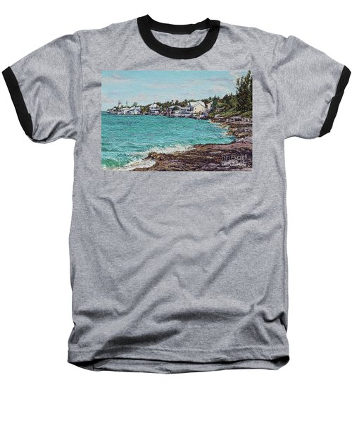 Solomons Lighthouse Baseball T-Shirt