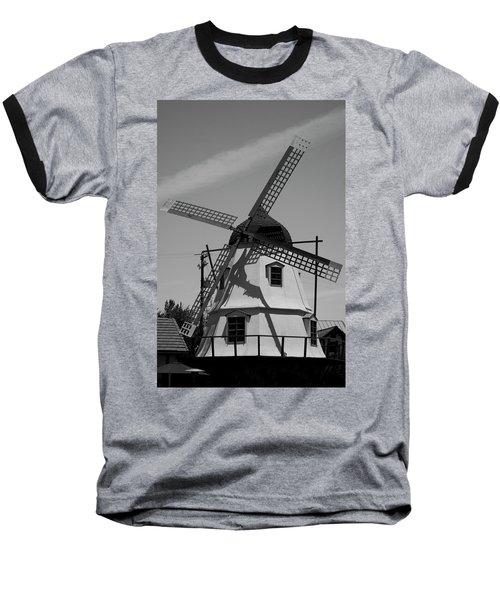 Solvang Windmill Baseball T-Shirt