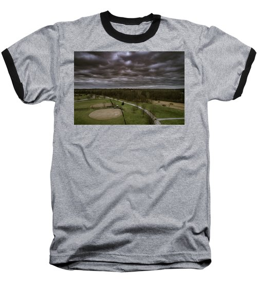 Somber Day Baseball T-Shirt
