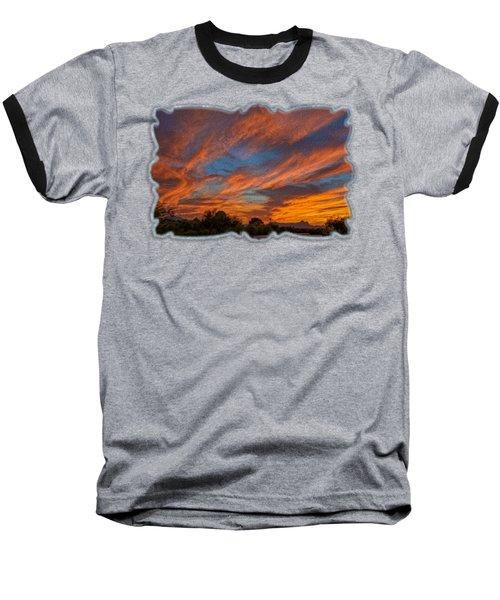 Sombrero Sunset Op27 Baseball T-Shirt