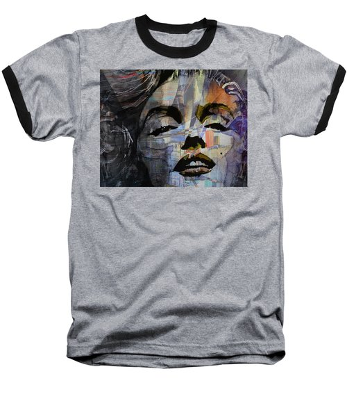 Baseball T-Shirt featuring the painting Some Like It Hot Retro by Paul Lovering