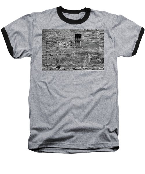 Baseball T-Shirt featuring the photograph Somebodie's In Love by Monte Stevens