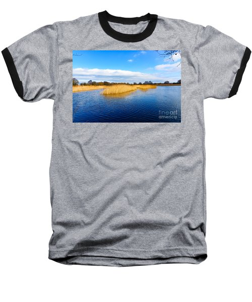 Baseball T-Shirt featuring the photograph Somerset Levels by Colin Rayner