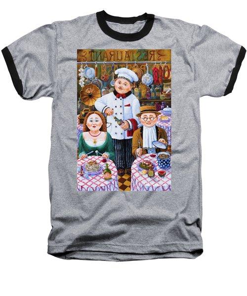 Something About Food 2 Baseball T-Shirt