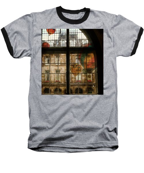 Baseball T-Shirt featuring the photograph Something In The Air by Paul Lovering