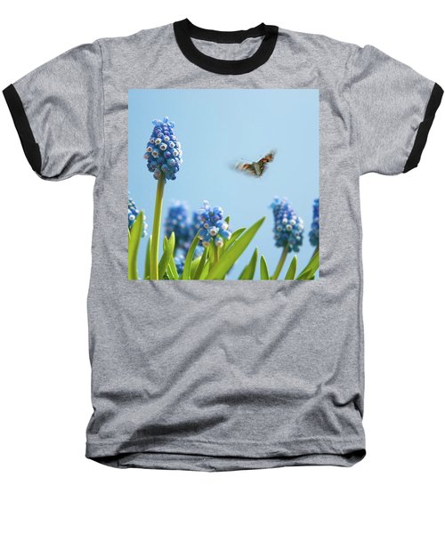 Something In The Air: Peacock Baseball T-Shirt