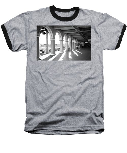 Baseball T-Shirt featuring the photograph Sometimes The Party Is Over by Lora Lee Chapman