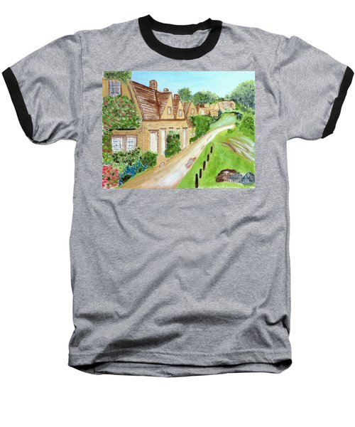Somewhere In Cotswolds South West England Baseball T-Shirt