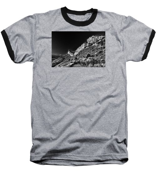 Baseball T-Shirt featuring the digital art Somewhere In Mesa Verde by William Fields