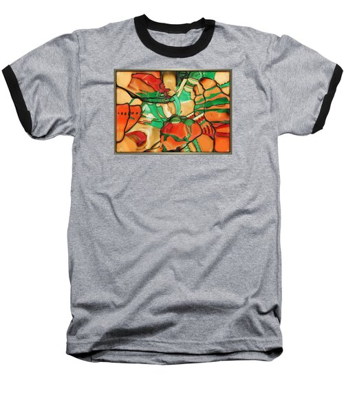 ' Somewhere In Mexico' Baseball T-Shirt