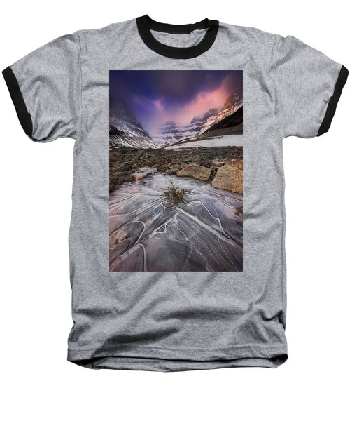 Somewhere In The Canadian Rockies Baseball T-Shirt