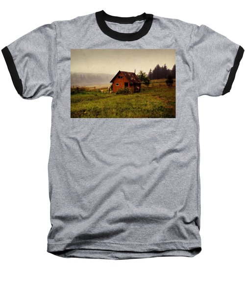 Somewhere In The Countryside. Russia Baseball T-Shirt