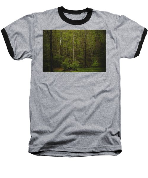 Baseball T-Shirt featuring the photograph Somewhere In The Woods by Shane Holsclaw
