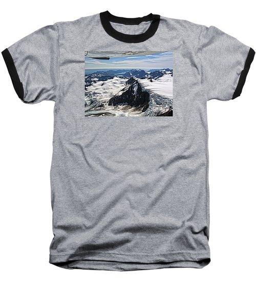 Somewhere Over Alaska Baseball T-Shirt