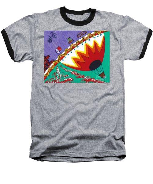 Somewhere Over The Rainbow Baseball T-Shirt