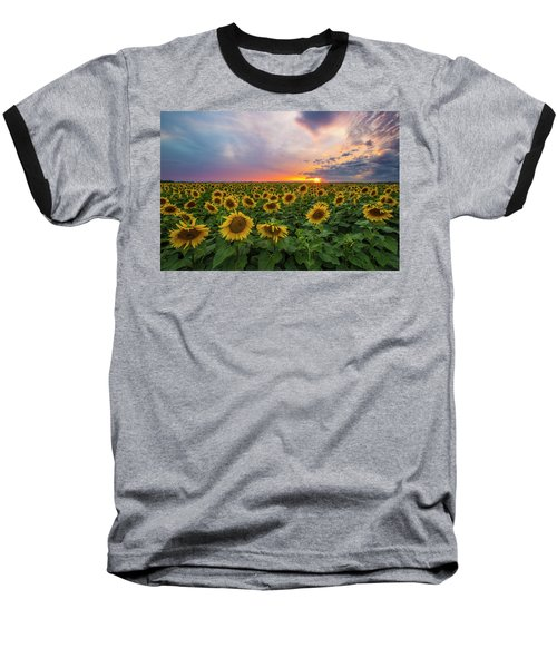Somewhere Sunny  Baseball T-Shirt by Aaron J Groen