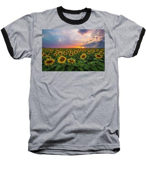 Somewhere Sunny  Baseball T-Shirt