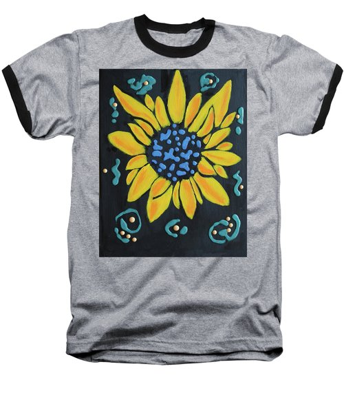 Son Flower Baseball T-Shirt