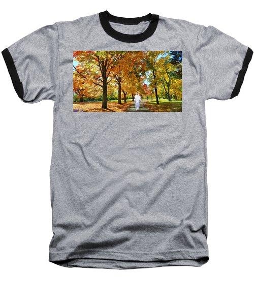 Son Of God Baseball T-Shirt by Michael Rucker
