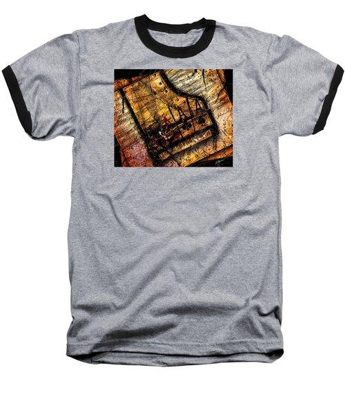 Sonata In Ace Minor Baseball T-Shirt by Gary Bodnar