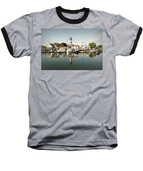 Sono Seaport Baseball T-Shirt by Diana Angstadt