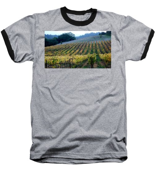 Sonoma County Vineyards Near Healdsburg Baseball T-Shirt
