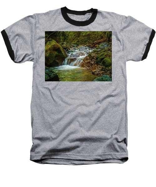 Baseball T-Shirt featuring the photograph Sonoma Valley Creek by Bill Gallagher