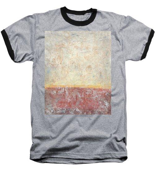 Sonoran Desert #2 Southwest Vertical Landscape Original Fine Art Acrylic On Canvas Baseball T-Shirt