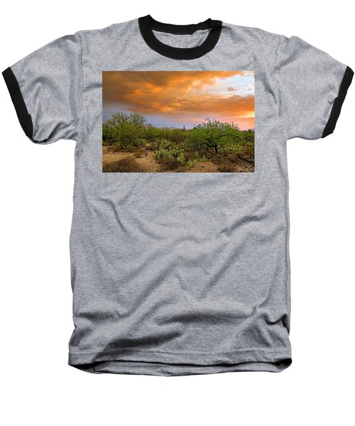 Baseball T-Shirt featuring the photograph Sonoran Desert H11 by Mark Myhaver