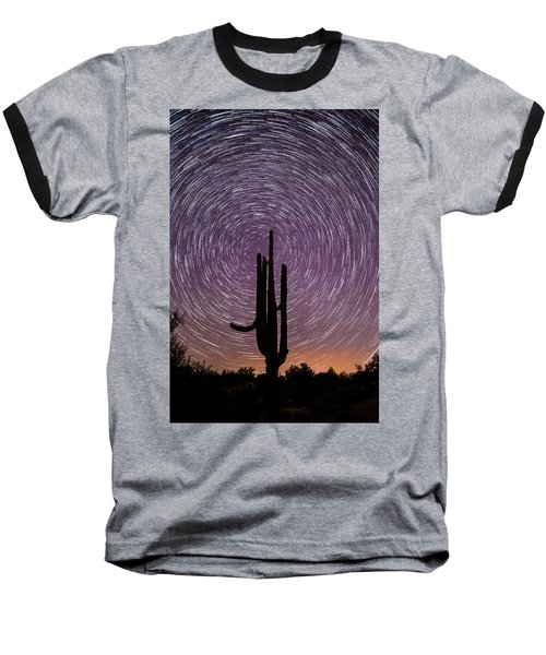 Sonoran Star Trails Baseball T-Shirt