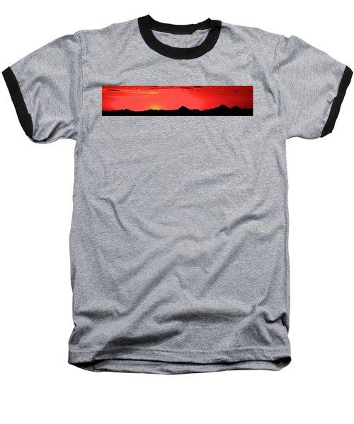 Sonoran Sunset  Baseball T-Shirt
