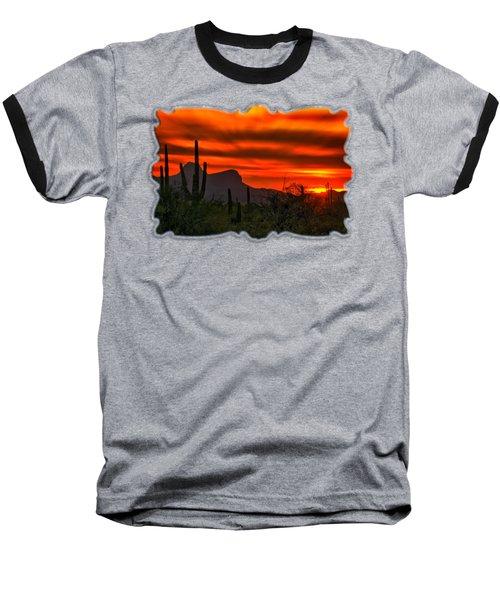 Sonoran Sunset H38 Baseball T-Shirt