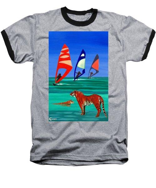 Tigers Sons Of The Sun Baseball T-Shirt