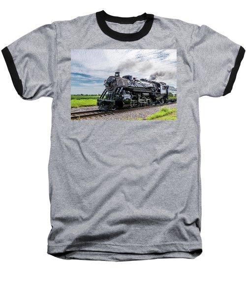 Baseball T-Shirt featuring the photograph Soo 1003 At Darien 2 by Randy Scherkenbach
