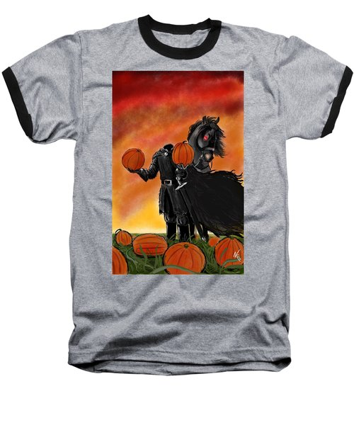 Soon It Will Be All Hallows' Eve Baseball T-Shirt