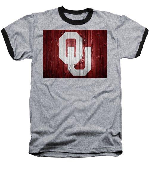 Sooners Barn Door Baseball T-Shirt