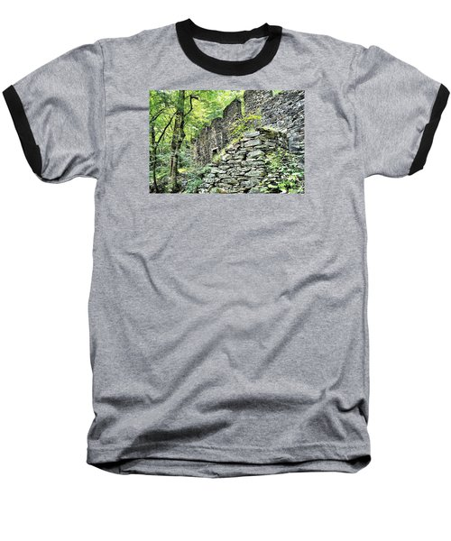 Sope Creek Mill Baseball T-Shirt by James Potts