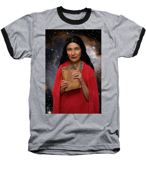 Sophia Baseball T-Shirt by David Clanton