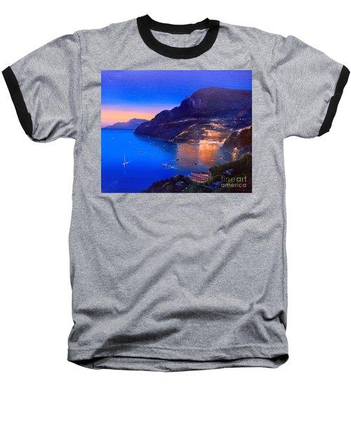 La Dolce Vita A Sorrento Baseball T-Shirt